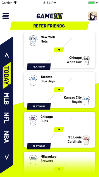 Screenshot for GameOn - Sports Prediction in United States App Store
