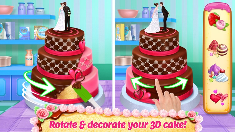 Real Cake Maker 3D Bakery screenshot-0