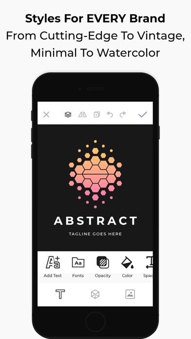 アイコニック:ロゴメーカーとブランディング、ロゴの作成のスクリーンショット4