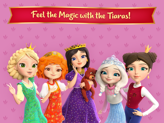 Ipad Screen Shot Little Tiaras: Magical Tales! 5