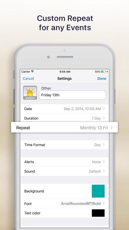 Reminder & Countdown screenshot-3