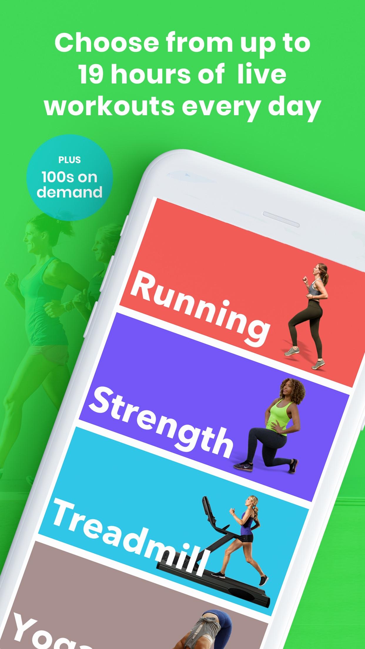 Gixo: Exercise Live & OnDemand Screenshot