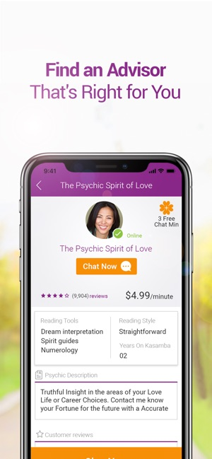 Kasamba Psychic Readings on the App Store
