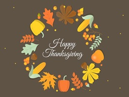 The ThanksgivingNVT is a small sticker, which are show the 30 Thanksgiving NVT sticker in cartoon