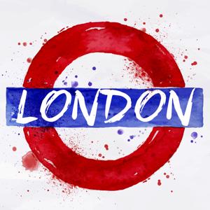 London Artful Watercolor - Stickers app