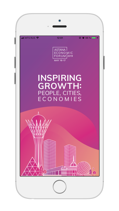 Screenshot for Astana Economic Forum 2019 in Finland App Store