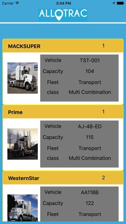 Allotrac Truck