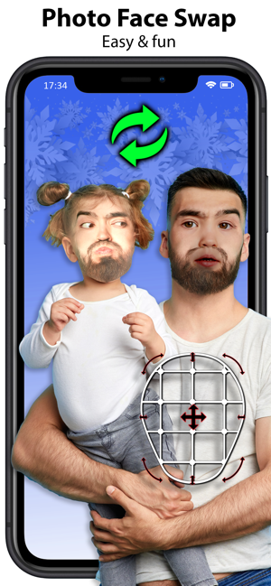 ‎Face Swap Booth - Face changer Screenshot