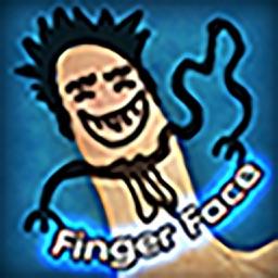 Finger Face - Sketch & Paint