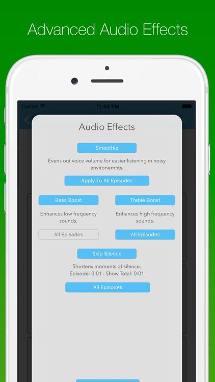 SkipCast: Podcast Player screenshot-3