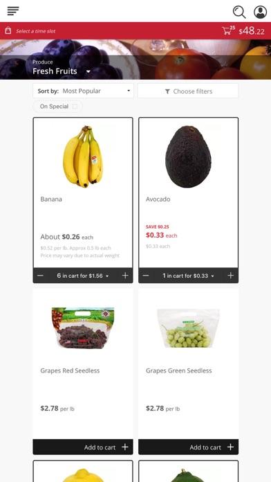 Food Outlet Original Cost Plus screenshot 2