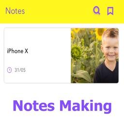 Making Notes & Save
