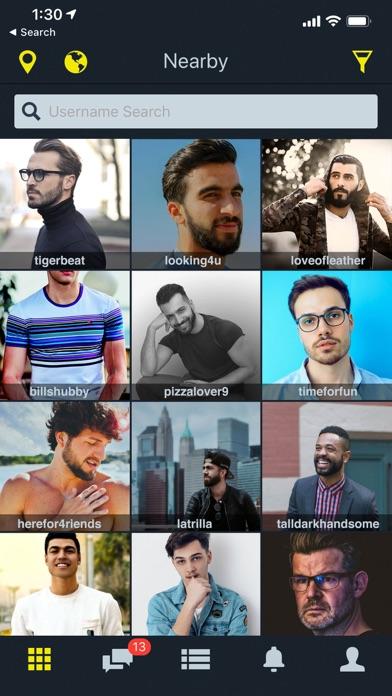 Manhunt Gay Chat Meet Date review screenshots