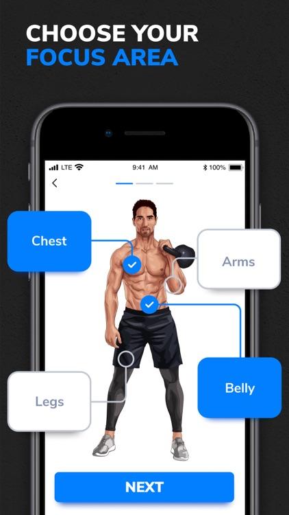 BetterMen: Fitness Planner