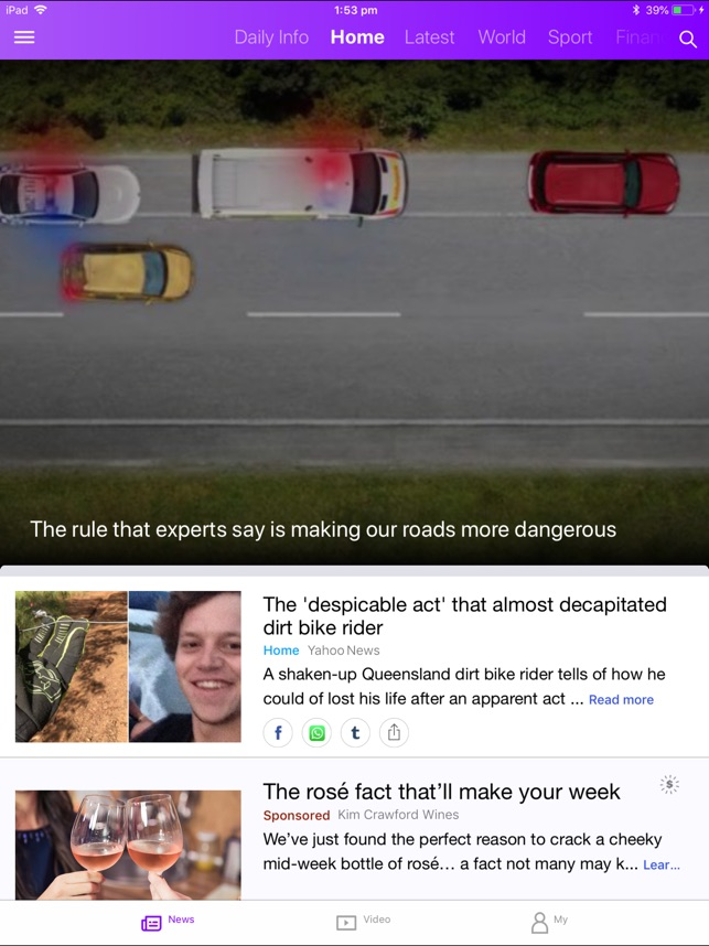 Yahoo News on the App Store