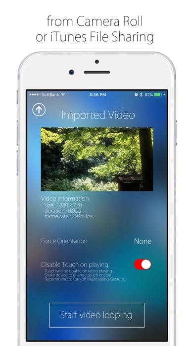 Screenshot #6 for Infinite Loop Player Pro