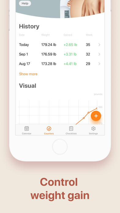 Screenshot for Pregnancy and Due Date Tracker in South Africa App Store
