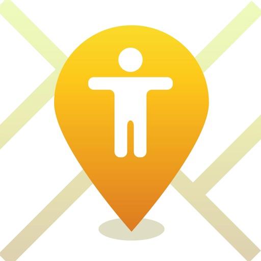 iMapp - Find my Phone, Friends icon
