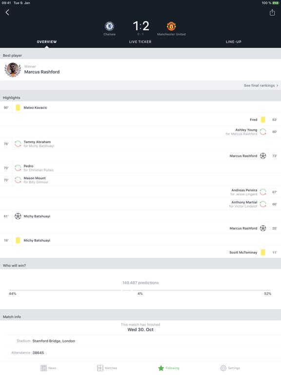 Onefootball - Live Scores & Soccer News screenshot