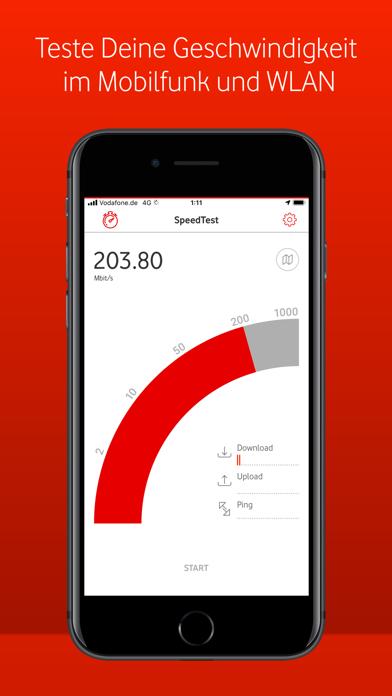 Herunterladen Vodafone SpeedTest für Pc