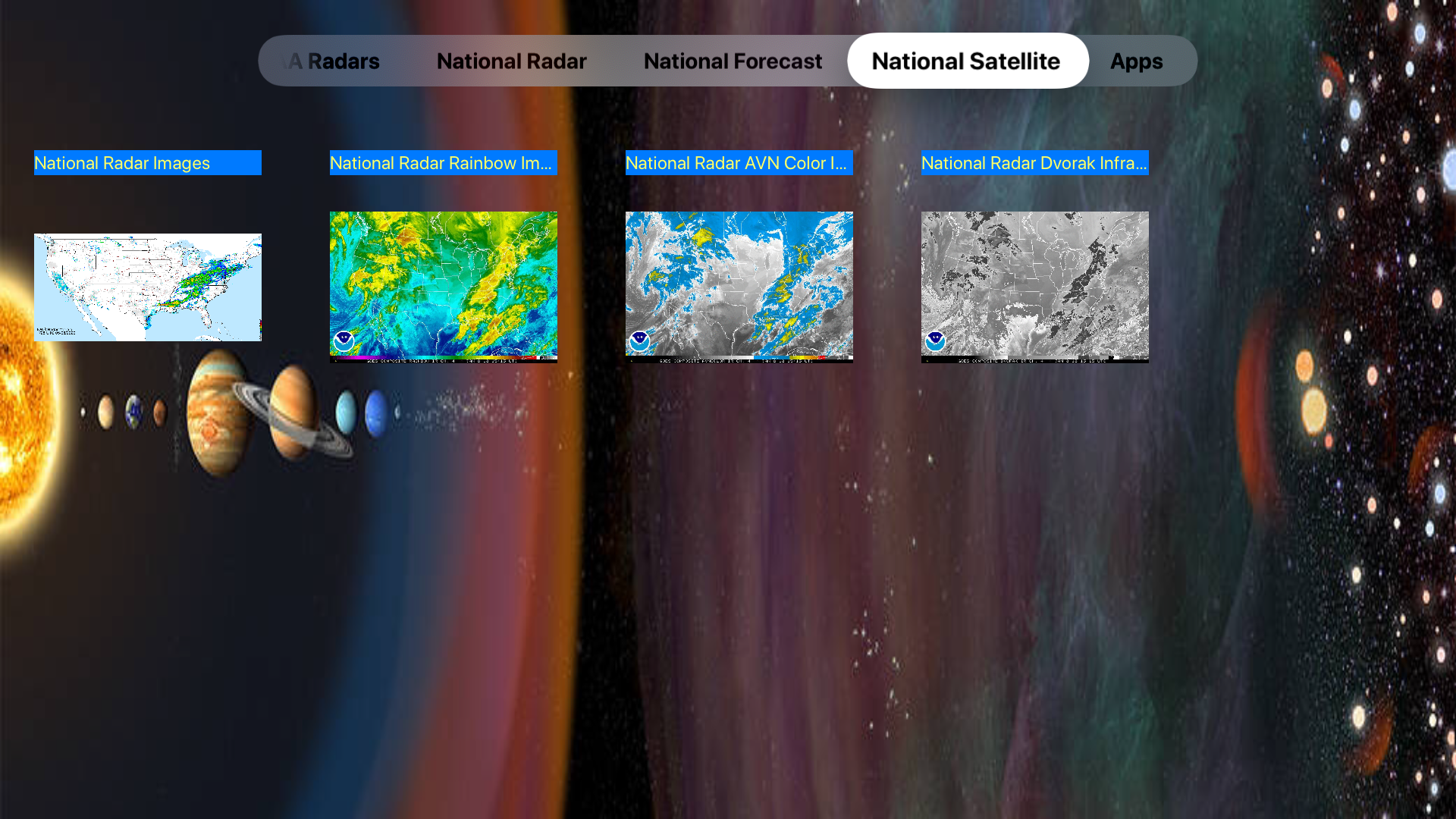 US NOAA Radars 3D screenshot 23