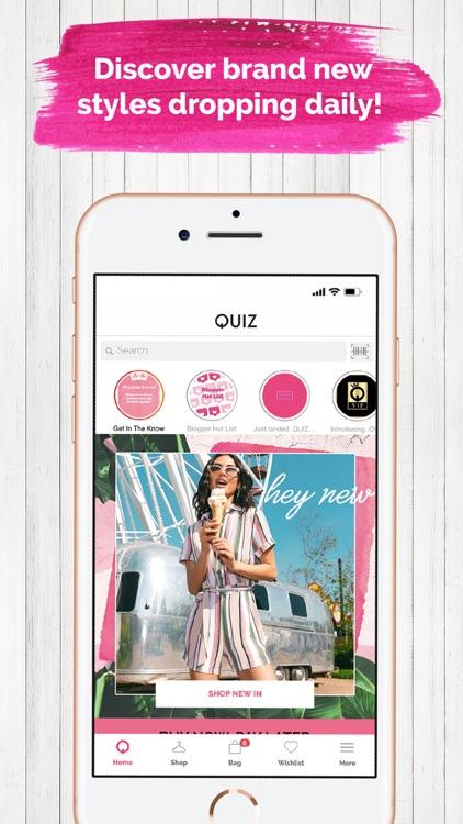 Quiz Clothing:Fashion & Trends screenshot-0