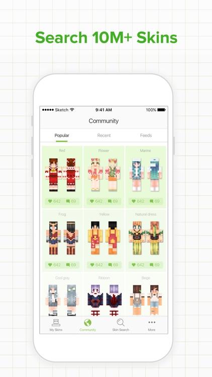 Skinseed for Minecraft Skins screenshot-0
