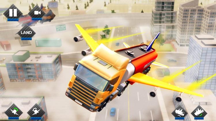 Futuristic Flying Truck Games