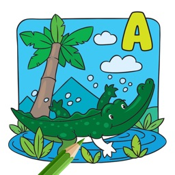 Alphabets Coloring Book