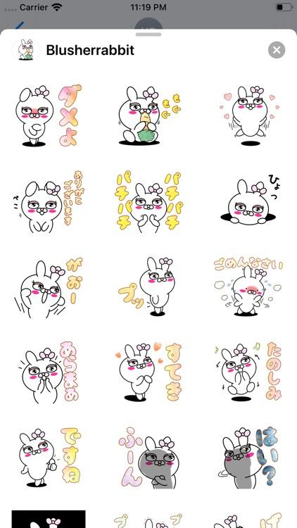 Blusher rabbit