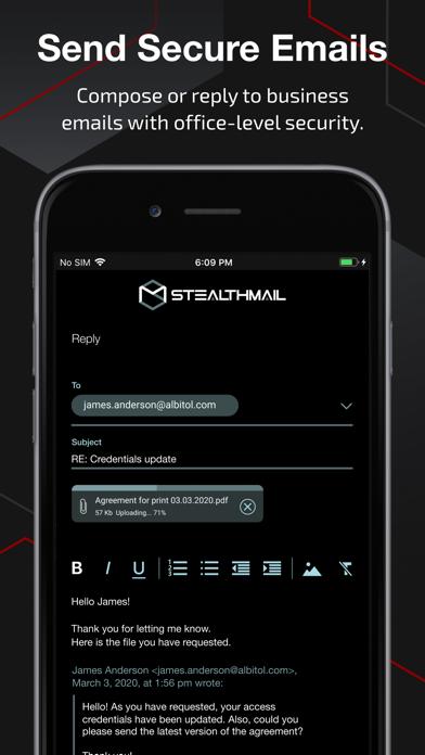 StealthMailСкриншоты 4