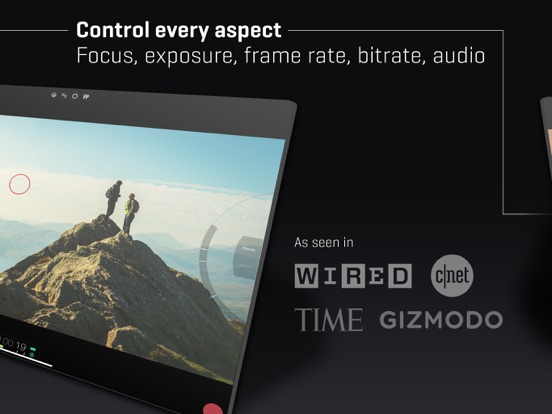 FiLMiC Pro-Video Camera Screenshots