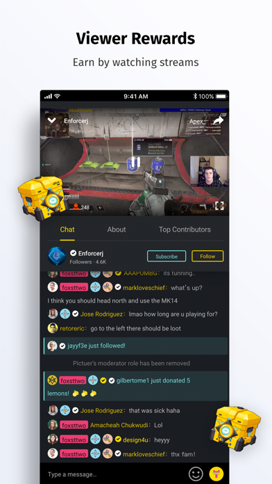 DLive · Live Stream Community Screenshot