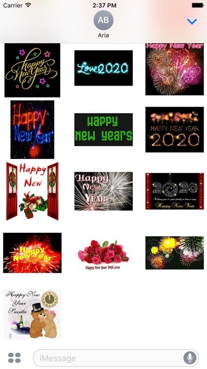 Animated Happy New Year 2020