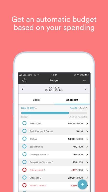 22seven: Budget, track & save screenshot-3
