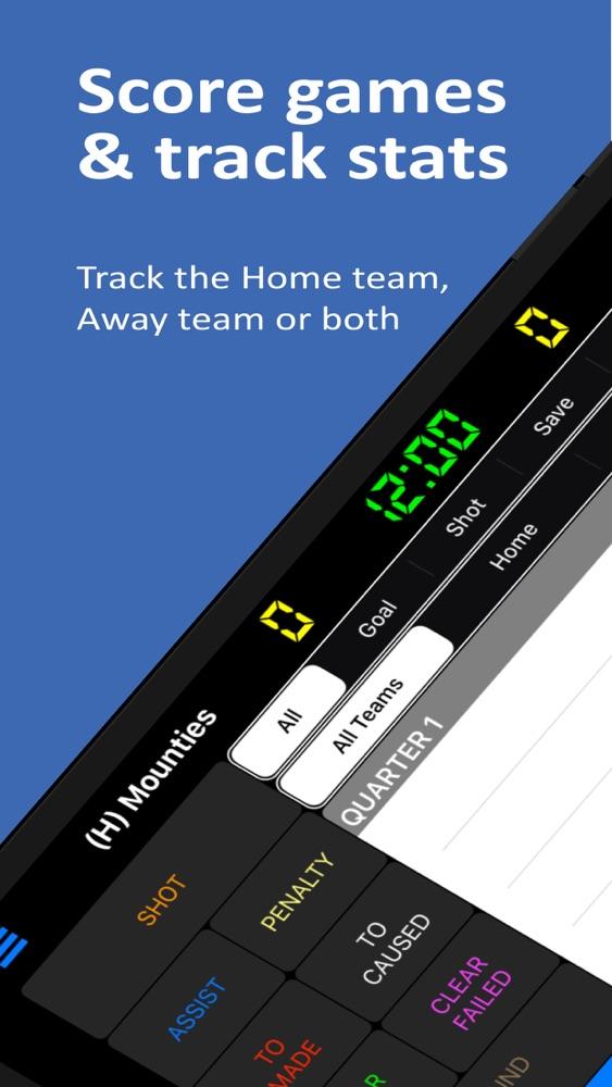 Lacrosse Scorebook + Stats App for iPhone - Free Download Lacrosse  Scorebook + Stats for iPad & iPhone at AppPure