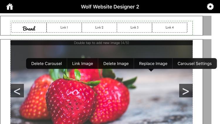 Wolf 2 - Responsive Designer screenshot-5