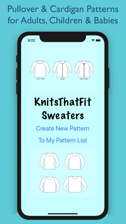 KnitsThatFit Sweaters Premium screenshot-0