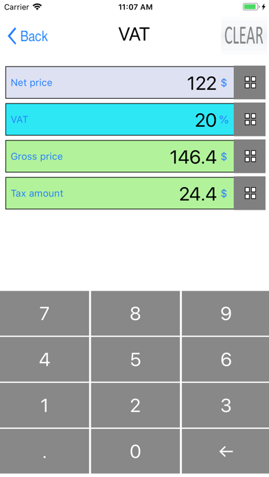 Percent, Percentage Calculator screenshot 6