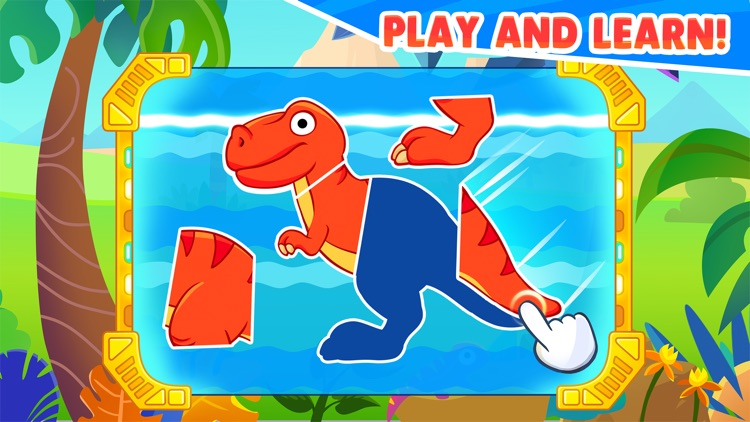 Dinosaur games for kids age 5