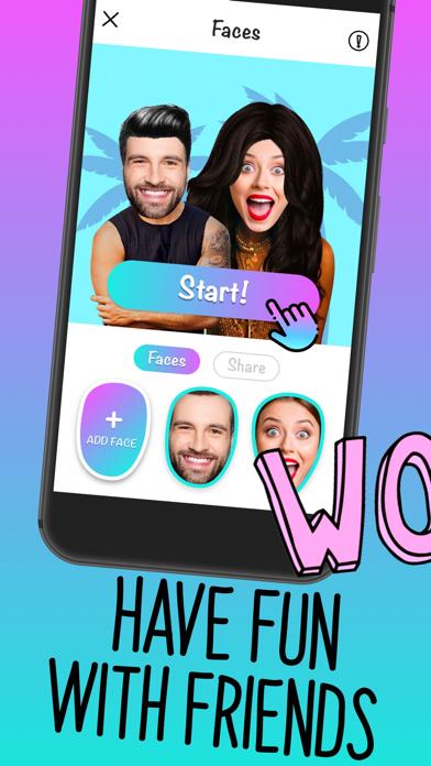 Herunterladen Faces - Video Selfie & Masks für Pc