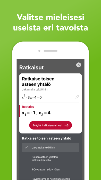 Screenshot for Photomath in Finland App Store