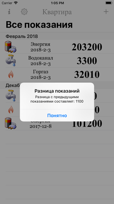 Показания iphone картинки