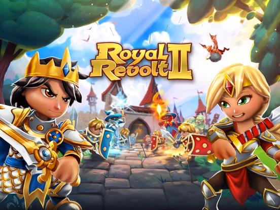 Royal Revolt 2: Tower Battle на iPad
