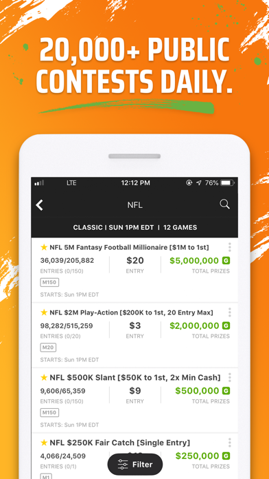 Download DraftKings Fantasy Football for Android
