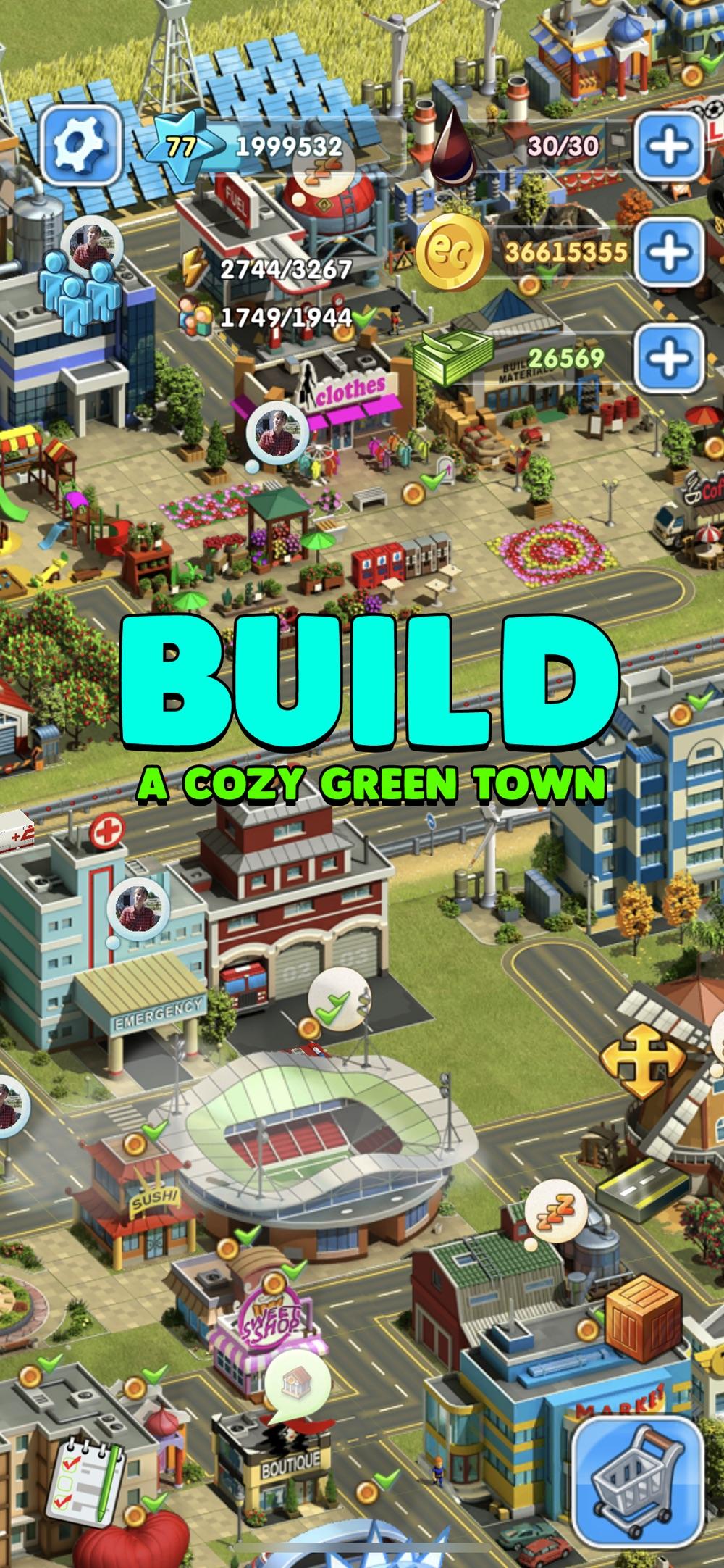 Eco City: Farm and Build Cheat Codes