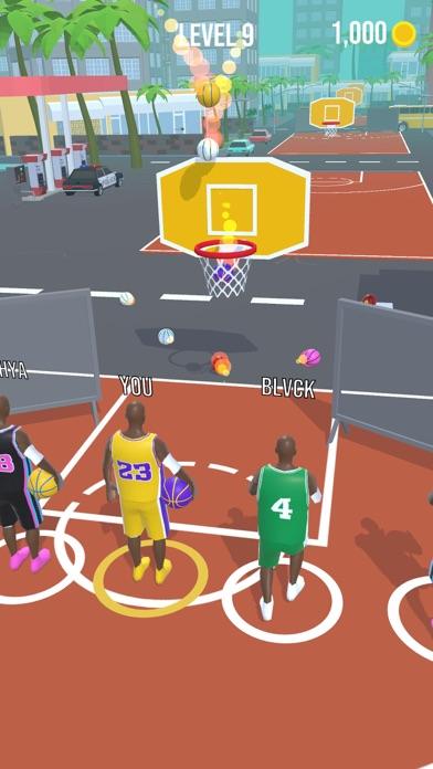 Basket Race screenshot 2