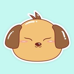 小棕狗表情包