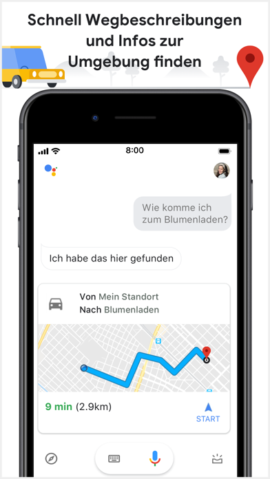 Screenshot for Google Assistant in Germany App Store