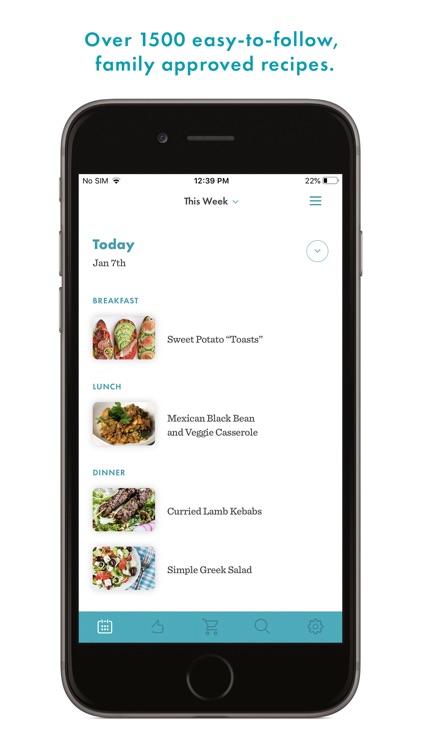 Real Plans - Meal Planner screenshot-0